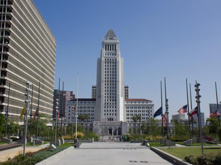 Los Angeles City Hall (temporary closure)