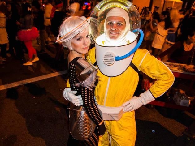West Hollywood Halloween Carnaval 2013 photos