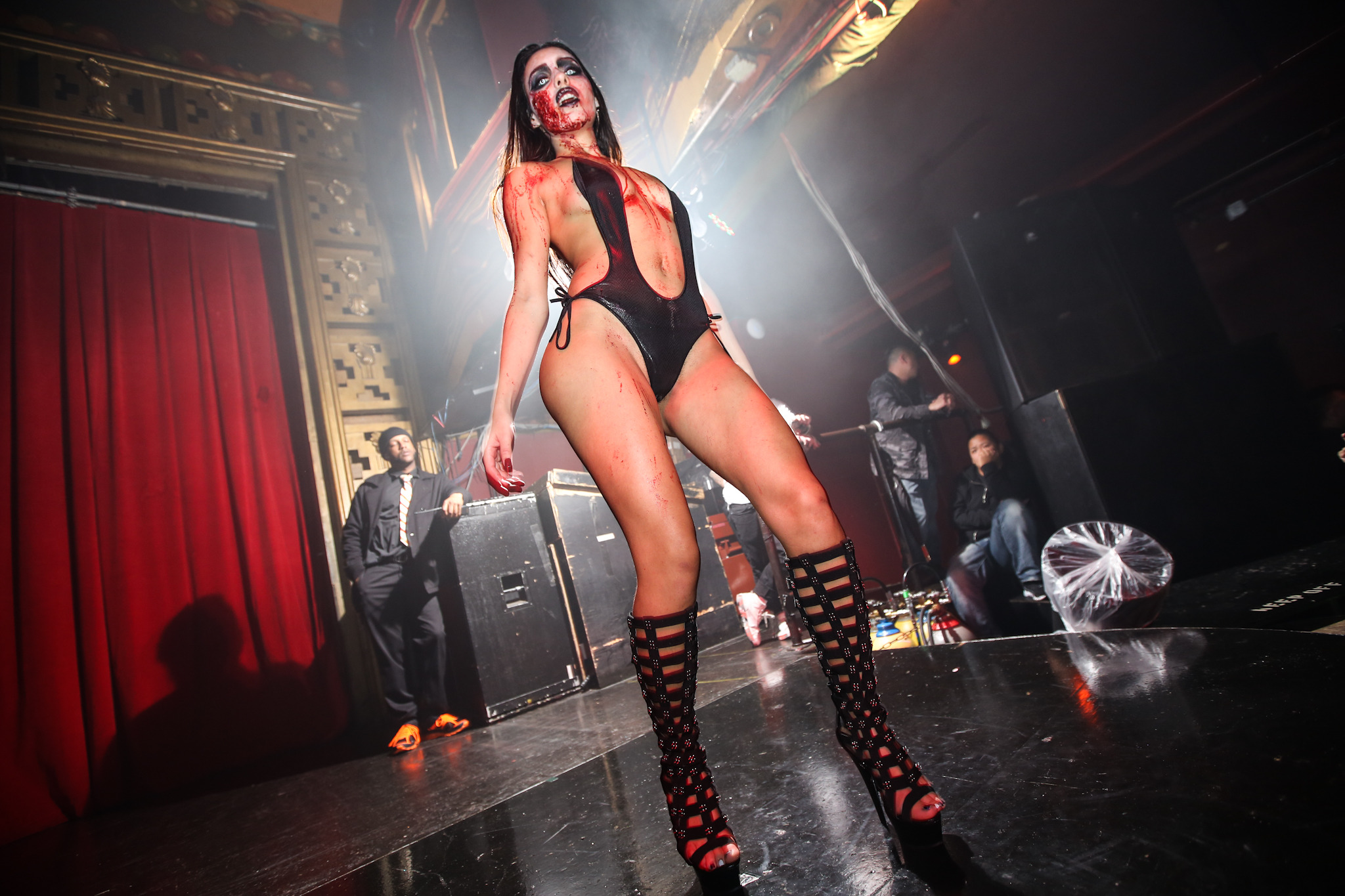 Webster hall halloween party