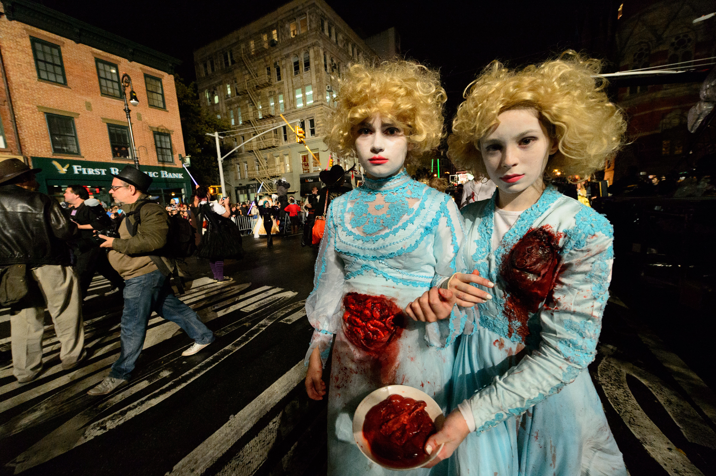 Halloween in NYC guide highlighting the spookiest fall events