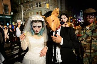 Village Halloween Parade 2013
