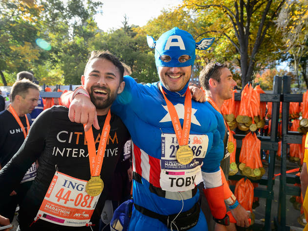 Check out the greatest NYC Marathon costumes (2013)