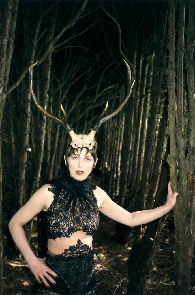 Alexander McQueen antlers