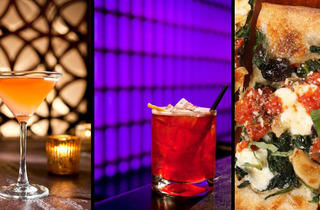 Time Out New York Holiday Drinking Party at Lavo