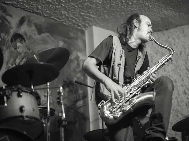 Germán Bringas. Músico y dueño del Café Jazzorca