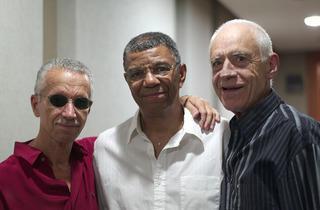 From left: Keith Jarrett, Jack DeJohnette, Gary Peacock
