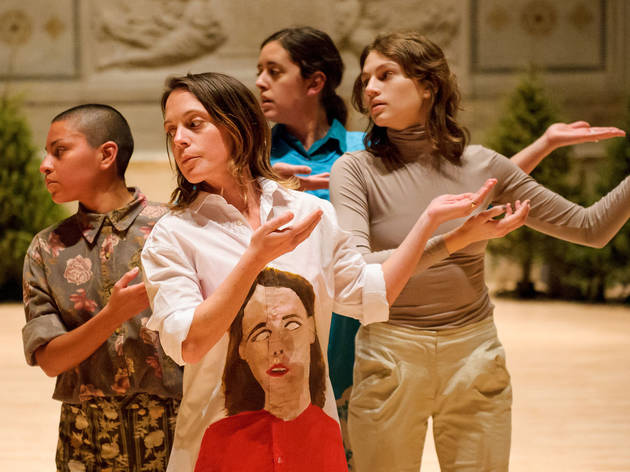 Movement Research at the Judson Church features Mariana Valencia