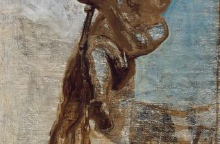 Honoré Daumier (' Man on a Rope', c1858)