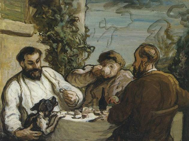 Honoré Daumier ('Lunch in the Country', c1867-1868)