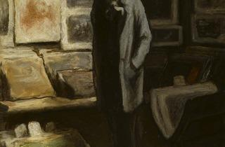 Honoré Daumier ( The Print Collector, c1857-63)