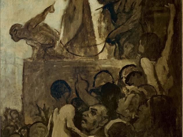 Honoré Daumier (Ecce Homo, c1849-52)