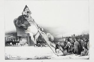 Honoré Daumier (Gargantua, La Caricature, 16 December 1831)