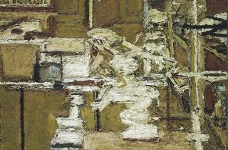 Frank Auerbach (The Sitting Room, 1964-1965 )