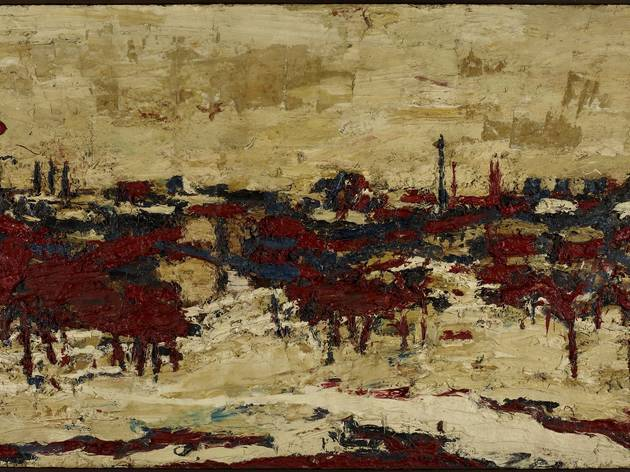 Frank Auerbach (Primrose Hill, Summer Sunshine, 1964)