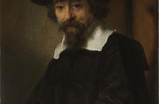Rembrandt (Portrait of Dr. Ephraïm Bueno, 1645-1647)