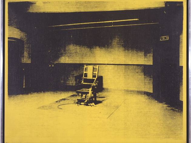 Andy Warhol ('Little Electric Chair', 1965)