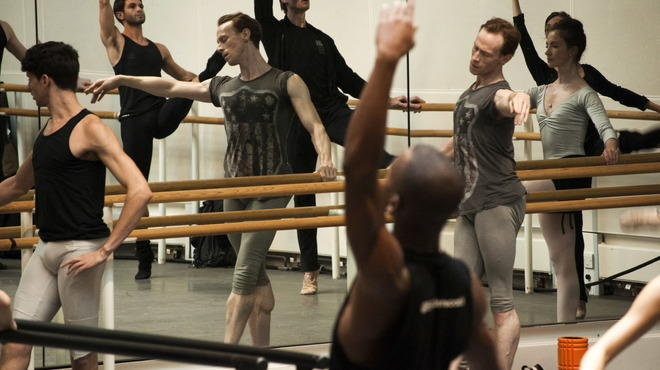 Behind the scenes with the Royal Ballet