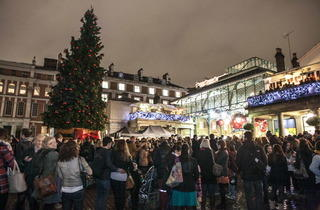 Covent Garden Christmas Lights (© Simona Dalla Valle)