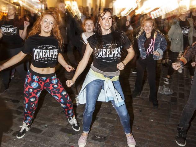 Flashmob (© Rob Greig)