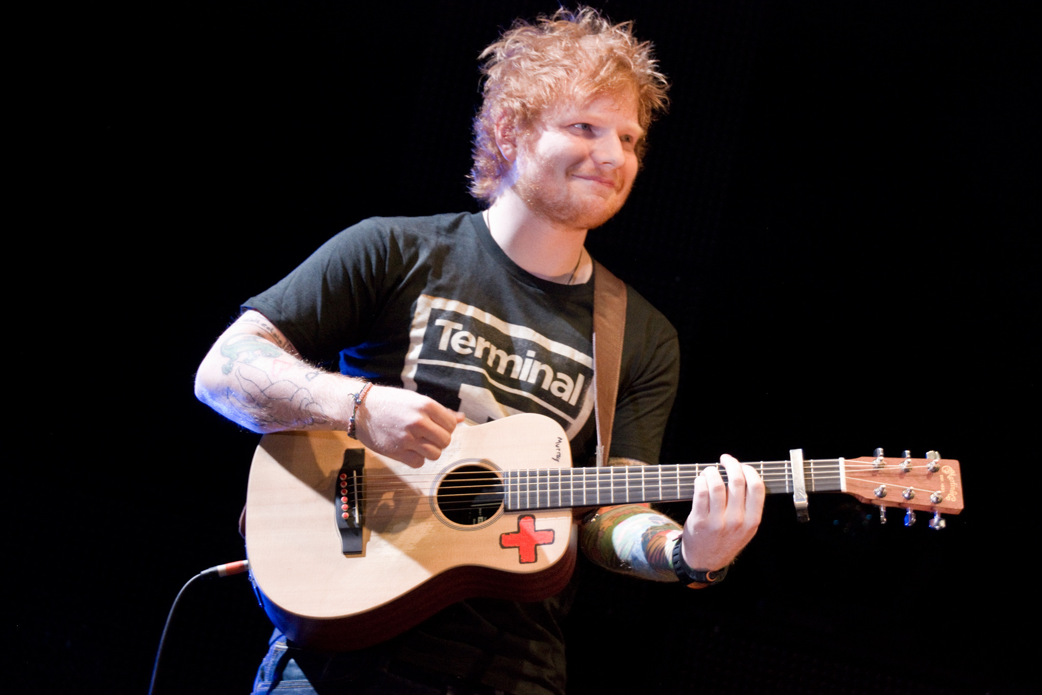 "Ed Sheeran performs ""The A Team"" (Acoustic)"
