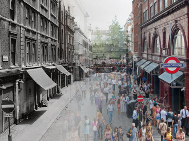 Covent Garden: then and now