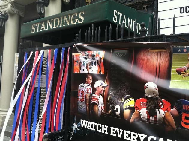 Standings Bar