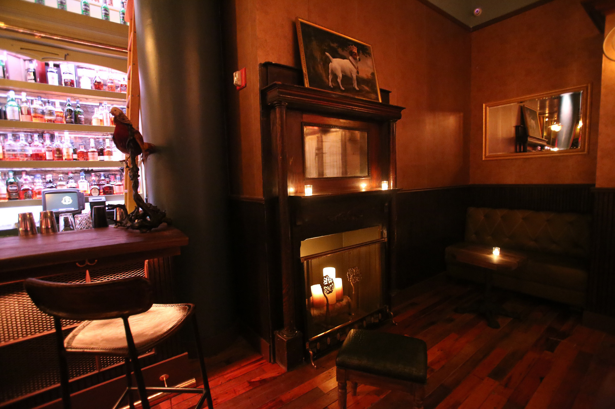 Badass Home Decor Fireplaces At New York Bars Ten Toasty Hearths To Warm You