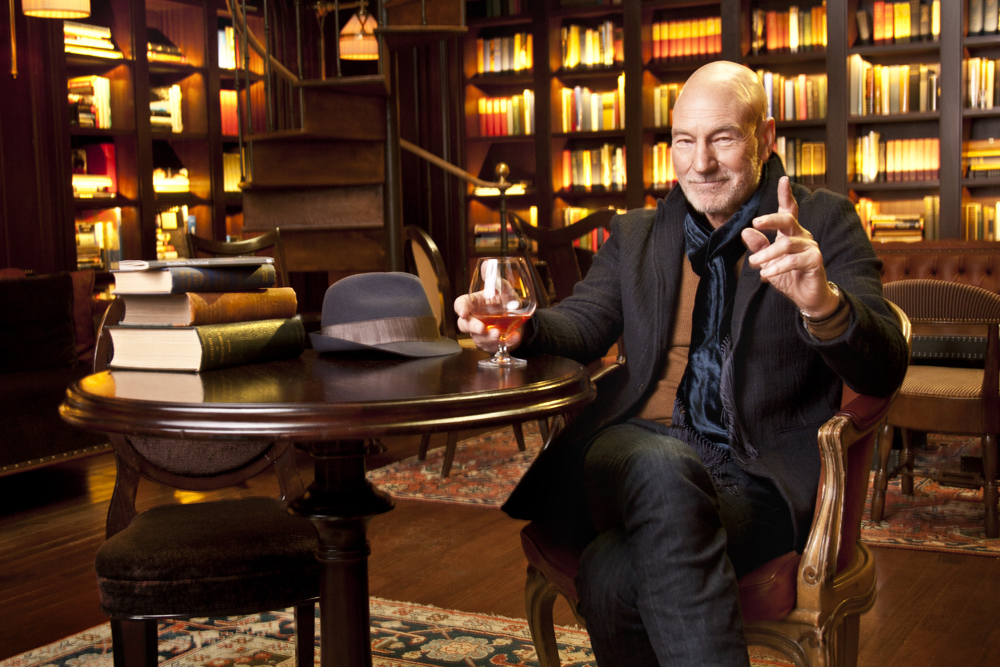 Interview: Sir Patrick Stewart