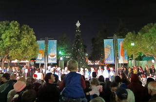 Culver City Downtown Holiday Tree Lighting Celebration