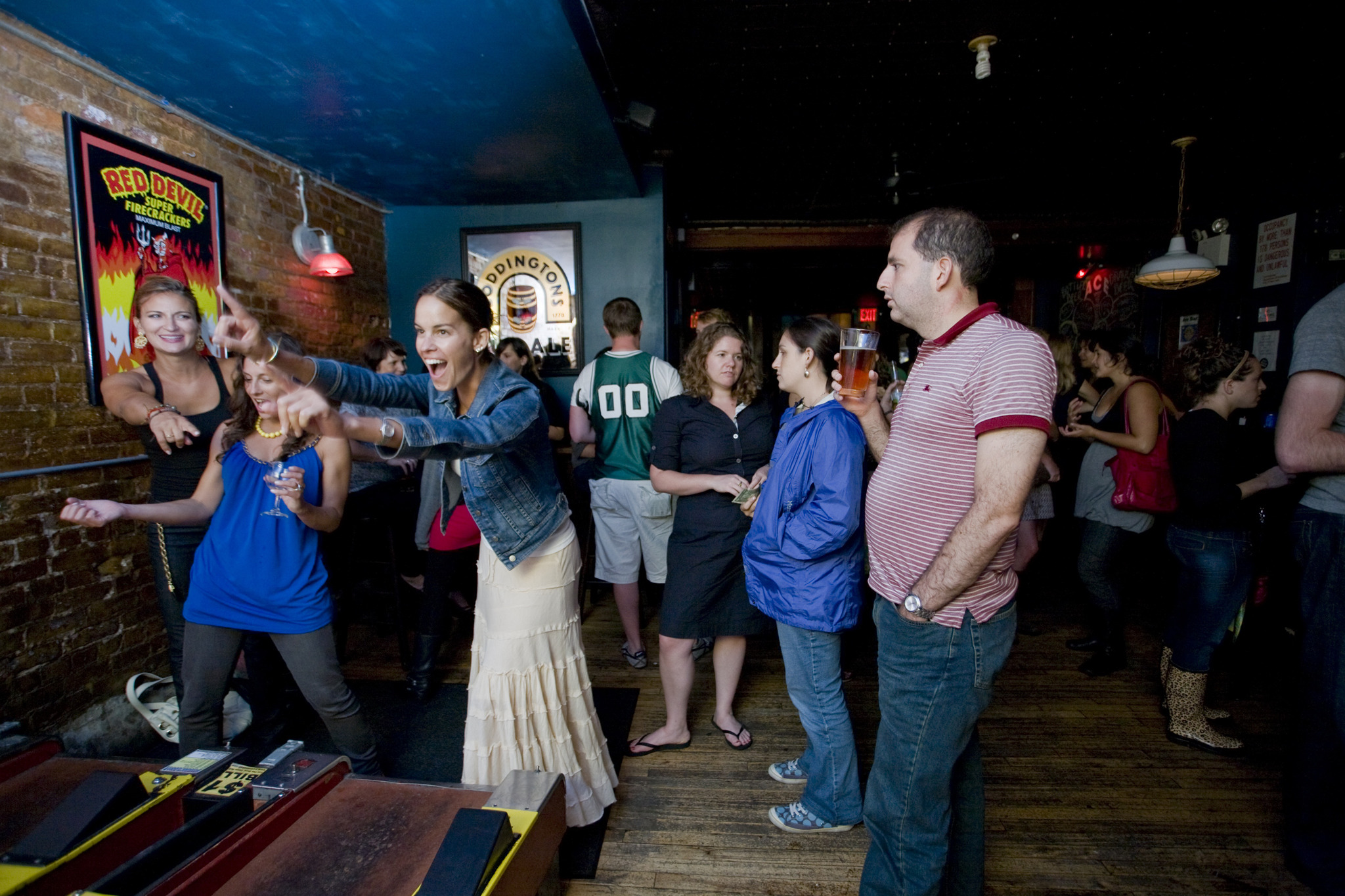 Bars with games, Skee-Ball, trivia and other activities