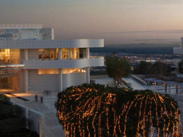 Holidays at the Getty.