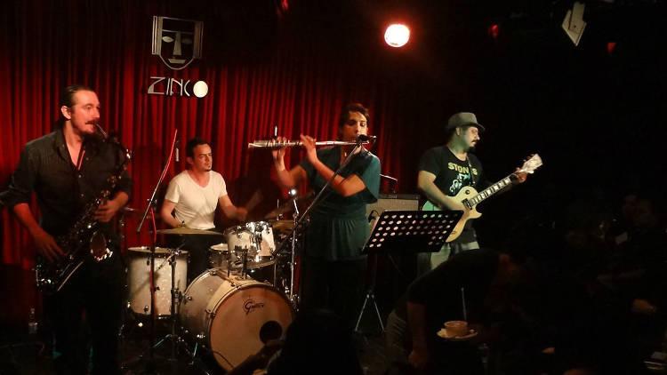 Zinco Jazz Club (Foto: Pamela Escamilla)
