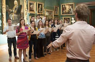 The Portrait Choir Singing Day