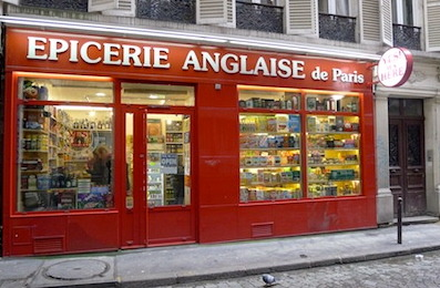 Epicerie anglaise écossaise irlandaise de Paris