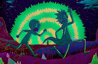Rick and Morty.