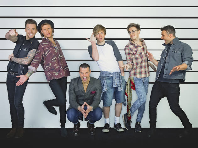 BRITISH SUMMER TIME: McBusted