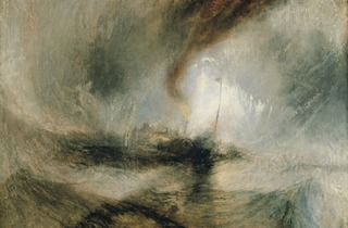 JMW Turner ('Snow Storm - Steam-Boat off a Harbour's Mouth' (exhibited 1842), © Tate)