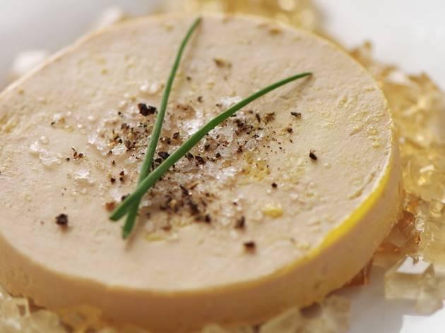 Quelques tranches de foie gras