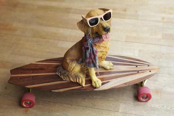 Une planche de surf