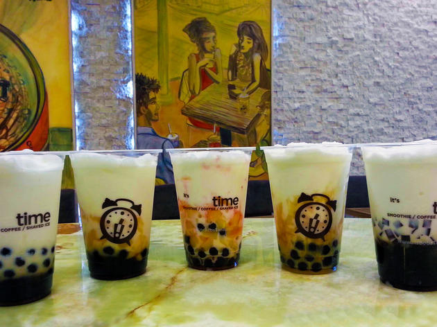Boba Time Iced Milk Drinks