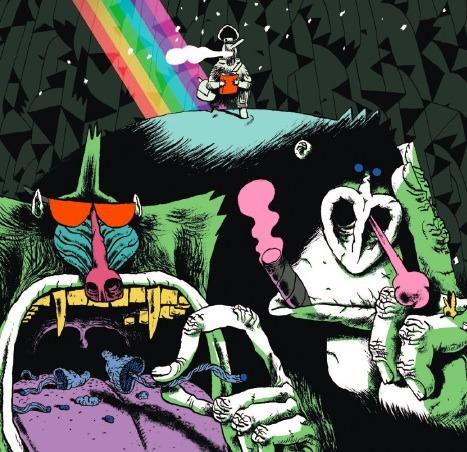Rire des aventures de Jack Mandrill et Hammerfist