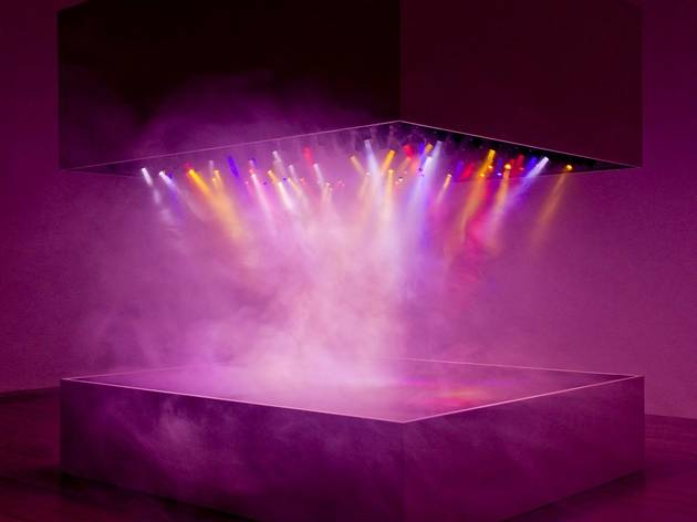 Pierre Huyghe (L'Expédition Scintillante, Act 2 (light show), 2002)