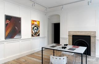 Exhibition view (Reflections from Damaged Life. An exhibition on psychedelia, Raven Row, 2013)