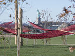 Governors Island revealed the completion of its first phase of new parkland
