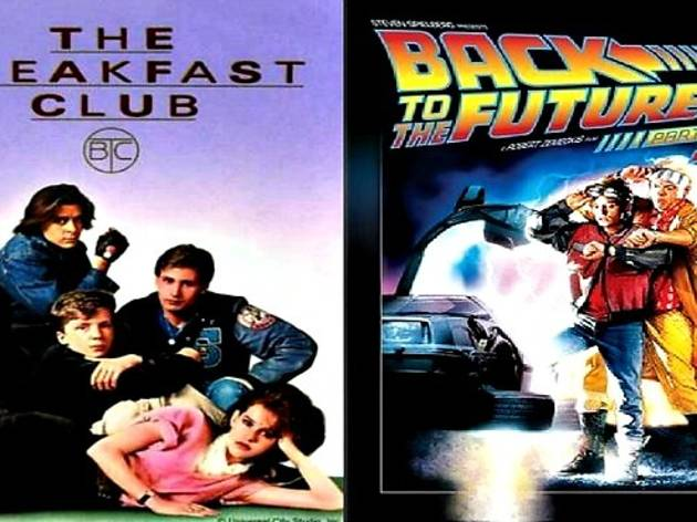 The Breakfast Club + Back to the Future Part II double feature