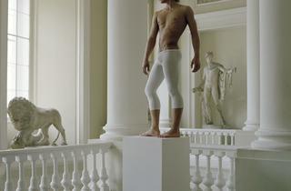 Valery Katsuba ('Gymnast Evgeny Ignatiev at the Art Academy Museum St. Petersburg', 2008)