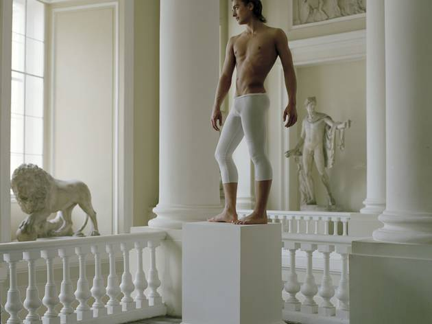 Valery Katsuba ('Gymnast Evgeny Ignatiev at the Art Academy Museum St. Petersburg', 2008)