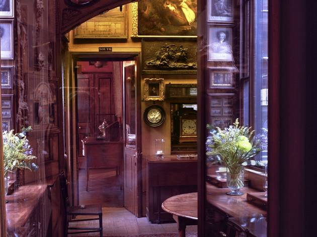 Museum Clausum ('Now and Then #01 (Sir John Soane's Museum)', 2011)