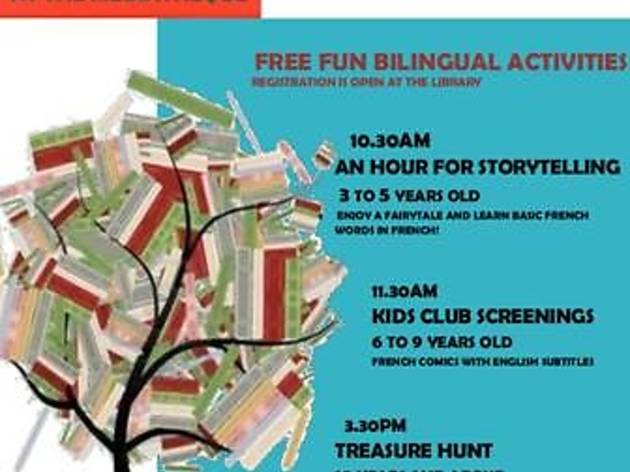 Saturday for kids at Alliance Francaise