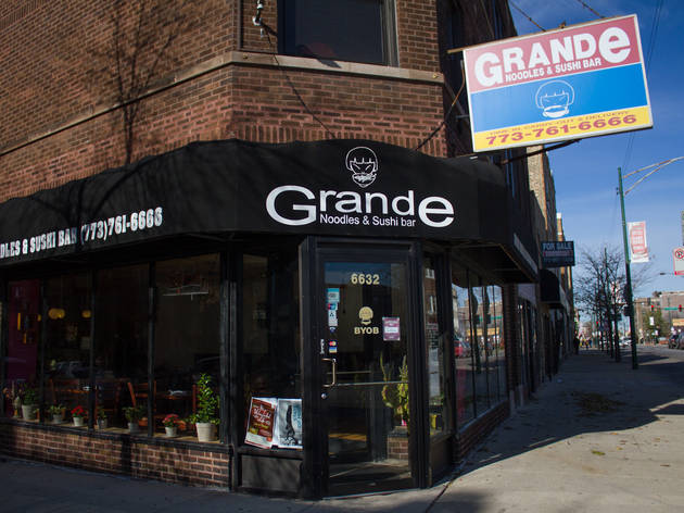 Grande Noodles and Sushi Bar (CLOSED)